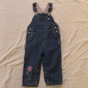 Carter's denim bins- 18 mon- embroidery/ patch
